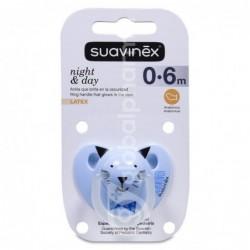 Suavinex Chupete Night & Day 0-6 Meses, 1 Unidad