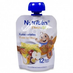 Nutribén Fruta & GO! Frutas Variadas, 90 g