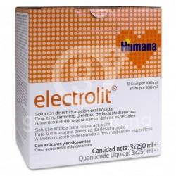 Humana Electrolit, 3 x 250 ml