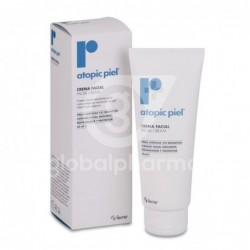 Repavar Atopic Piel Crema Facial, 50 ml