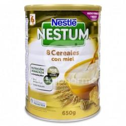Nestlé Nestum Expert 8 Cereales con Miel y Bífidus, 650 g