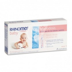 Rhinomer Baby 5 ml, 20 Monodosis