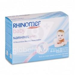 Rhinomer Narhinel Confort Recambios Blandos Desechables, 10 Uds