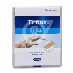 Tiritas Plastic Aposito Adhesivo 19 X 72, 14 Unidades