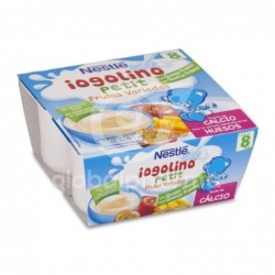 Nestlé Yogolino Petit Frutas Variadas con Queso Fresco 100 g, 4 Uds