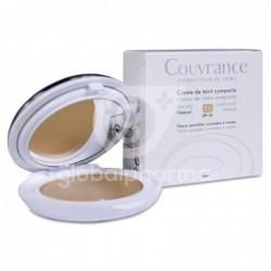 Avène Couvrance Crema Compacta Oil-free Natural SPF 30, 9,5 g