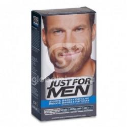 Just For Men Bigote Y Barba Gel Colorante 30 Cc Castaño Claro