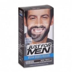 Just For Men Bigote Y Barba Gel Colorante 30 Cc Negro