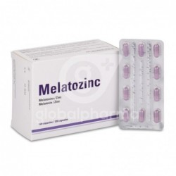 Melatozinc 1 mg, 120 caps