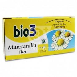 Bio3 Manzanilla Flor Ecológica, 25 Bolsas