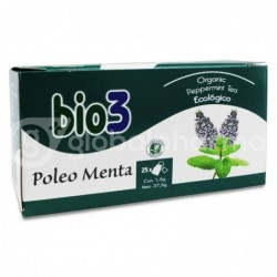 Bio3 Poleo Menta, 25 Bolsas