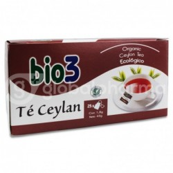 Bio3 Té Ceylan Ecológico, 25 Bolsas