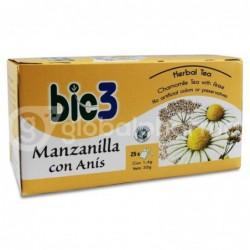 Bie3 Manzanilla con Anís, 25 Bolsas