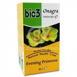 Bie3 Onagra Naturcaps 500 mg, 80 Cápsulas