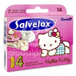 Salvelox Hello Kitty, 14 apósitos