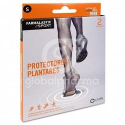 Farmalastic Sport Protectores Plantares Talla S, 2 Unidades