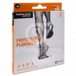 Farmalastic Sport Protectores Plantares Talla M, 2 Unidades