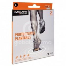 Farmalastic Sport Protectores Plantares Talla L, 2 Unidades