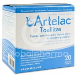 Artelac, 20 Toallitas Estériles