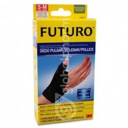 Futuro Estabilizador Dedo Pulgar Negro Talla S/M, 1 Unidad
