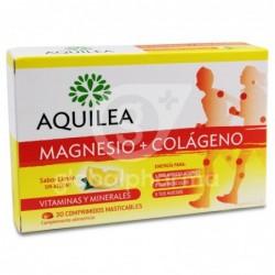 Aquilea Magnesio + Colágeno, 30 Comprimidos Masticables