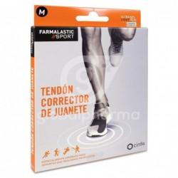 Farmalastic Sport Tendón Corrector de Juanete Talla M, 1 Unidad