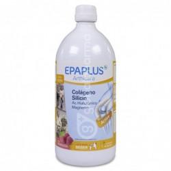 Epaplus Colágeno + Silicio + Ácido Hialurónico Frambuesa, 1 L