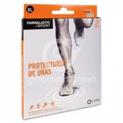 Farmalastic Sport Protector Uñas Talla XL, 2 Unidades