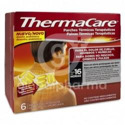 Thermacare Parche Térmico Cuello, Hombros y Muñeca, 6 Unidades