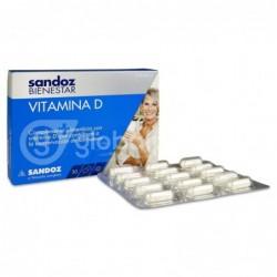 Sandoz Bienestar Vitamina D, 30 Comprimidos