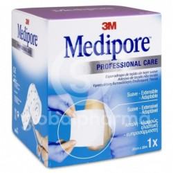 Medipore Professional Care Esparadrapo sin Tejer, 10 cm x 10 m