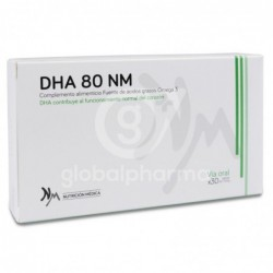 NM DHA 80, 30 Cápsulas