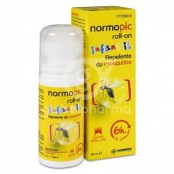 Normopic Roll-On Infantil Repelente de Mosquitos, 50 ml