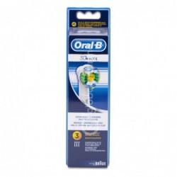 Oral-B 3D White Recambios Cepillo Eléctrico Recargable, 3 Uds