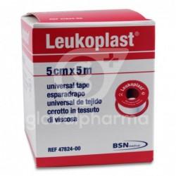 Leukoplast Esparadrapo Color Carne 5 cm x 5 m, 1 Unidad