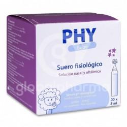 Phy Suero Fisiológico, 30 Monodosis