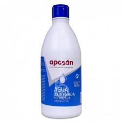 Aposán Agua Oxigenada Reforzada, 500 ml