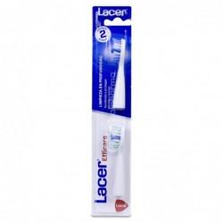 Lacer Recambio Cepillo Eléctrico Adulto, 2 Unidades