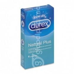 Durex Natural Plus, 6 Preservativos