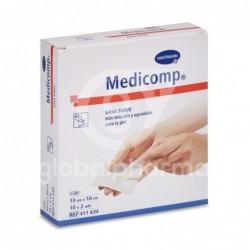 Medicomp Gasa Suave 10 x 10 cm, 20 Unidades