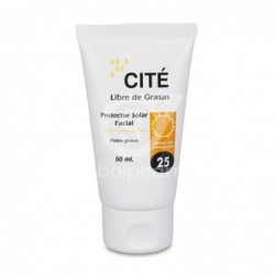Cité Protector Solar Facial SPF 25+, 50 ml