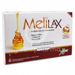 Aboca Melilax Microenema 10 g, 6 Unidades