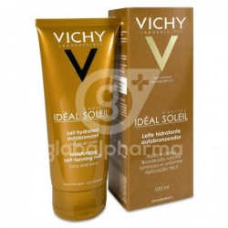 Vichy Crema Autobronceador Leche, 100 ml