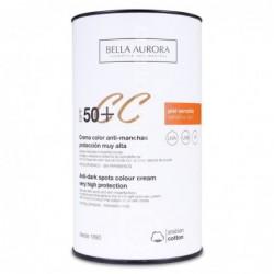 Bella Aurora Protección Solar SPF 50+ Color, 50 ml