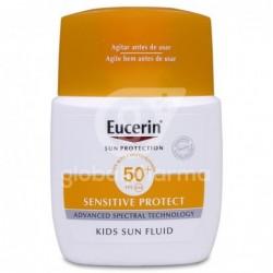 Eucerin Fluido Infantil Pocket Size, 50 ml