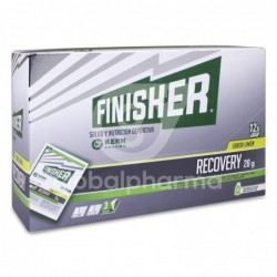 Finisher Recovery Polvo Sabor Limón 28 g, 12 Sobres