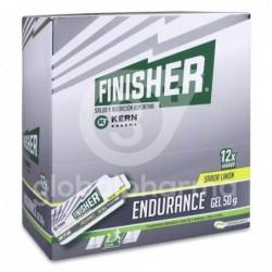 Finisher Endurance Gel sabor Limón, 12 Sobres