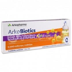 Arkopharma Arkobiotics Jalea Real y Defensas Niños, 7 Dosis