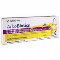 Arkopharma Arkobiotics Vitaminas y Defensas Niños, 7 Dosis