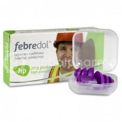 Febredol Tapones Oído Silicona Moldeable Alta Protección, 2 Unidades